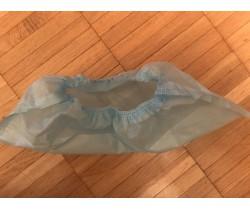 Бахилы ламинированные сверх мега прочные бело голубые 25 гр. 120 мкм (микрон)