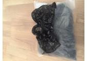 Бахилы Экстра черные (4.2 гр.) 30 мкм (микрон)