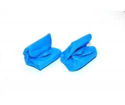 Бахилы суперпрочные с двойной подошвой и резинкой (5.8 гр.) 60 мкм (микрон)