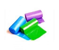 Мешки мусорные 20л 42х50 8 мкм (микрон) в рулонах