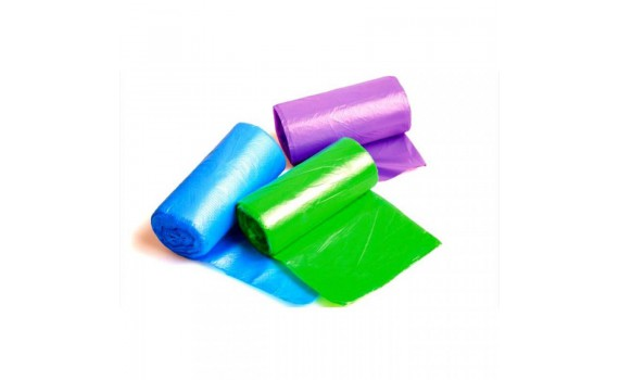 Мешки мусорные 30л 50х60 (12) в рулонах