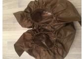 Бахилы ламинированные сверх мега прочные коричневые 25 гр.