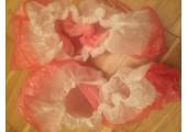 Бахилы двойные бело розовые (4 гр.) 40 мкм (микрон)