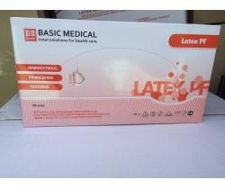 Перчатки медицинские диагностические латексные  текстурированные. Размер S