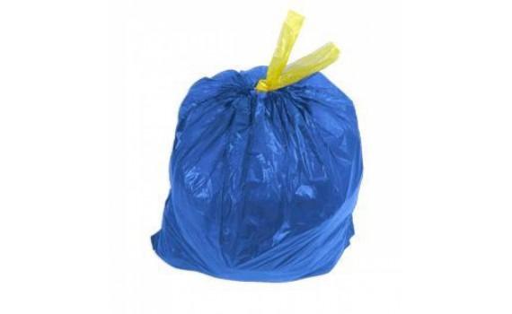 Мешки мусорные 20л 48х48 (16) с завязкой в рулонах