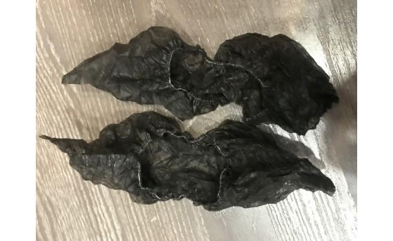 Бахилы (носки) нетканые, черные 3 гр.