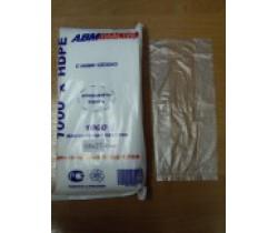 Пакет фасовочный, ПНД 10+8х27 9 мкм (микрон) в пластах