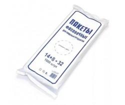 Пакет фасовочный, ПНД 14+8x32 7 мкм (микрон) в пластах