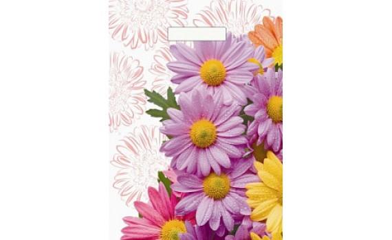Пакет с вырубной ручкой 36х45+4 (40 мкм) Цветочная композиция