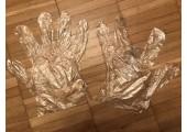 Перчатки полиэтиленовые стандартные размер L (14 микрон)