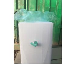 Бахилы особо прочные с двойной усиленной резинкой в евроблоке зеленые (4.2 гр.)